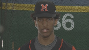 Johnson thrilled to be drafted by Reds