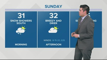 Storm Team 2 late night forecast Carl Lam 12/14/19