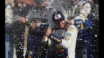 Elliott holds off Truex Jr. to win NASCAR Cup race at the Glen