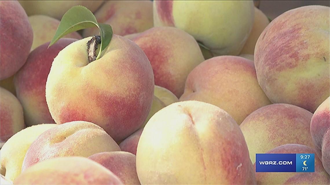 Niagara County Peach Festival chairman Dean Beltrano looks ahead to this year's event