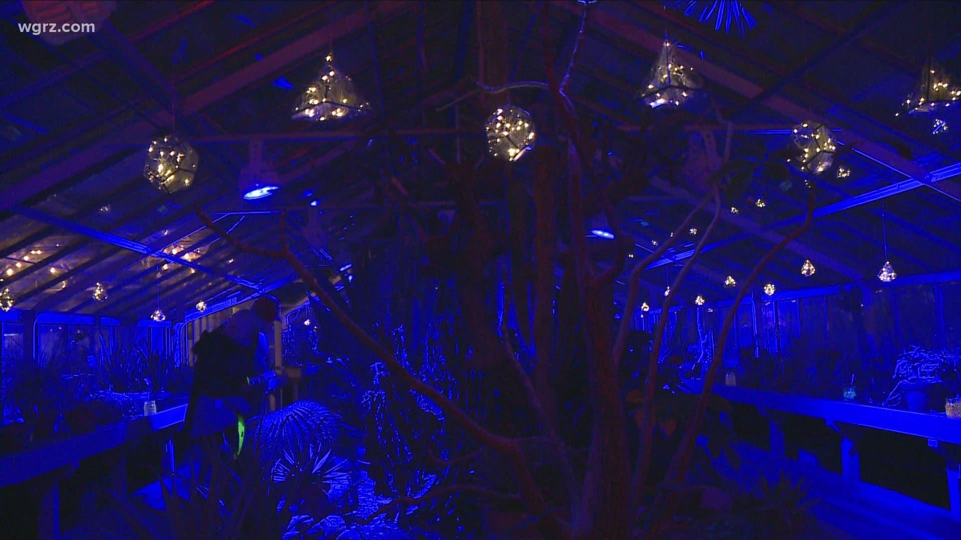 Enchanted Winter Escape Event Lights Up Botanical Gardens Wgrz Com