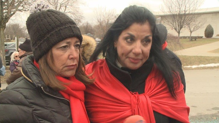 Kathy Johnston & Tina Siniscalco