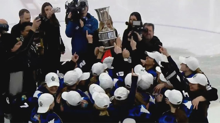 The Whitecaps lift the Isobel Cup in their first season