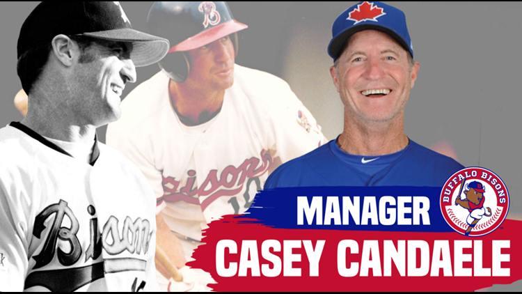 Bisons name former All-Star Casey Candaele as new manager