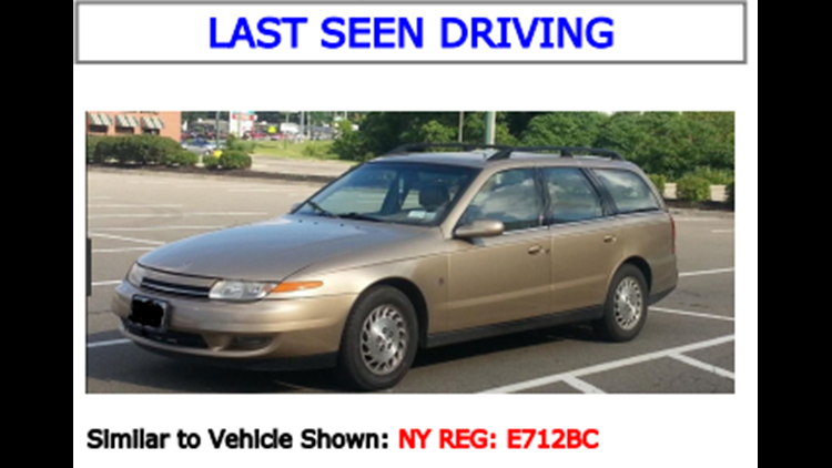 Missing Vulnerable Adult Lyle Stilwell's Vehicle