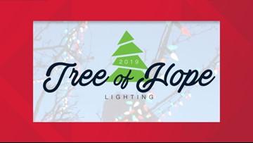 Roswell Park 2019 Tree of Hope Lighting