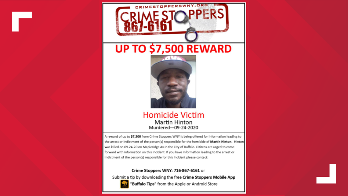 Crime Stoppers offering up to $7,500 for information about September 2020 homicide