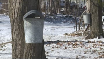 Maple weekend underway in Western New York