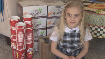 WNY's Great Kids: 6-yr-old Turns Coffee Cups into Candy Bars and Gives Them Away