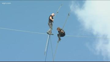 Wallendas Walk The High Wire In Florida