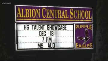 Albion parents concerned about threat