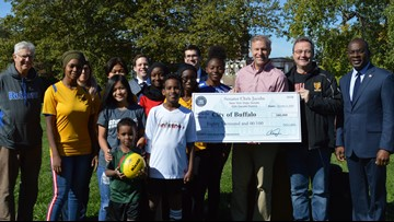 Grant money will help promote soccer across the City of Buffalo