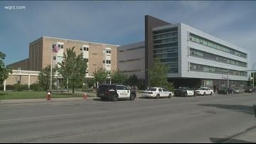 Police Respond To Gun Report At Mckinley HS