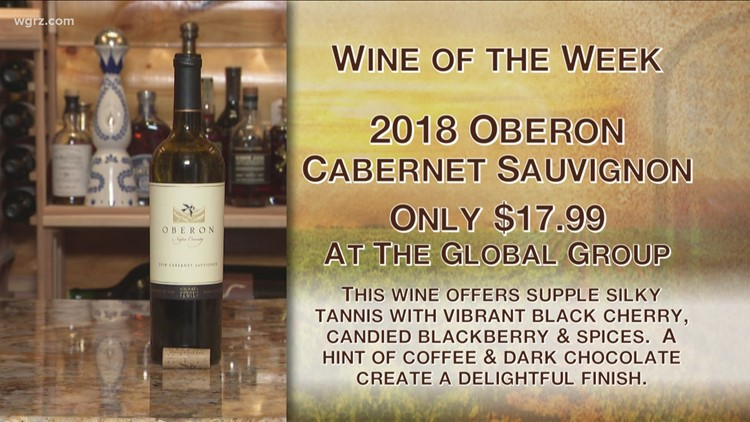 Kevin's Wine of the Week is the 2018 Oberon Cabernet Sauvignon