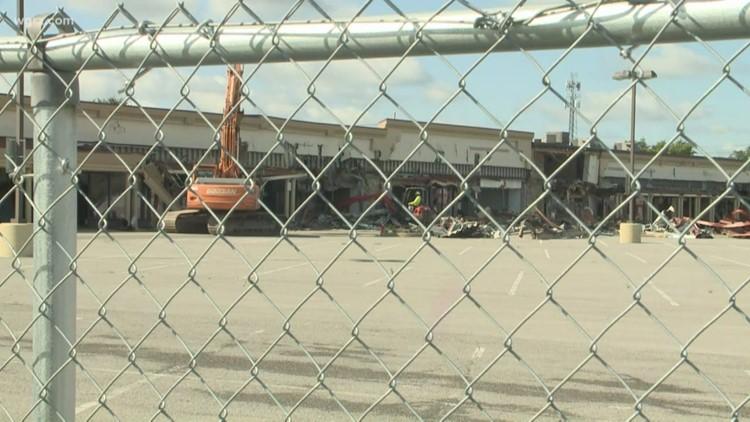 Demolition Of Northtown Plaza