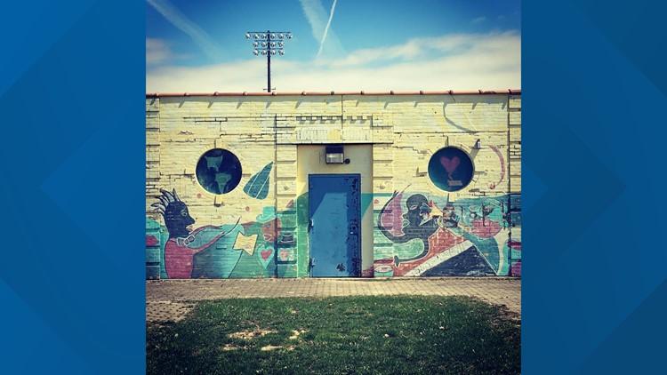 Masten Park murals