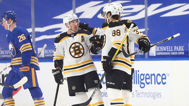 Bruins continue domination of Sabres