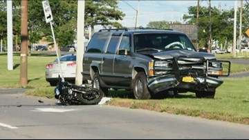 Person on motorcycle dies after collision in Niagara Falls