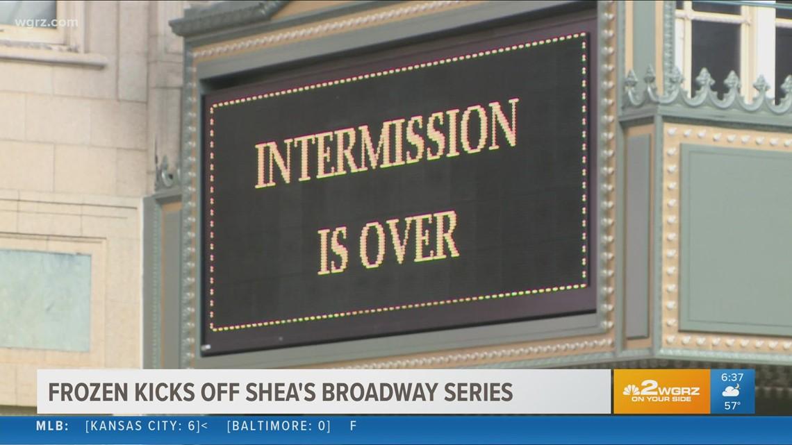 Frozen kicks off Shea's Broadway series