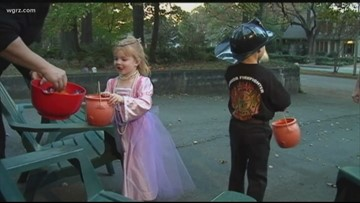 Move Trick-Or-Treating Because Of Weather?
