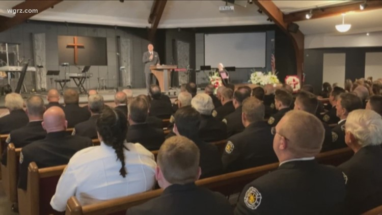 Cheektowaga Assistant Fire Chief's Funeral