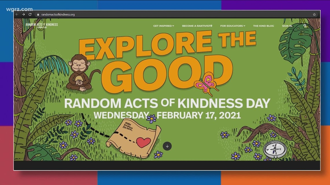 Most Buffalo: Random Acts of Kindness Day