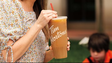 """Tim Hortons debuts """"Mom-Sized"""" Iced Coffee"""