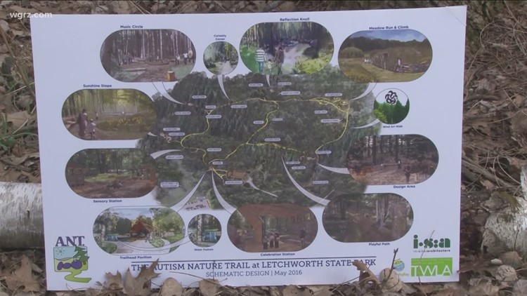 Autism Nature Trail at Letchworth State Park now open