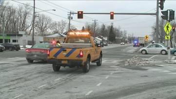 Pedestrian struck by truck in Lancaster listed in serious condition