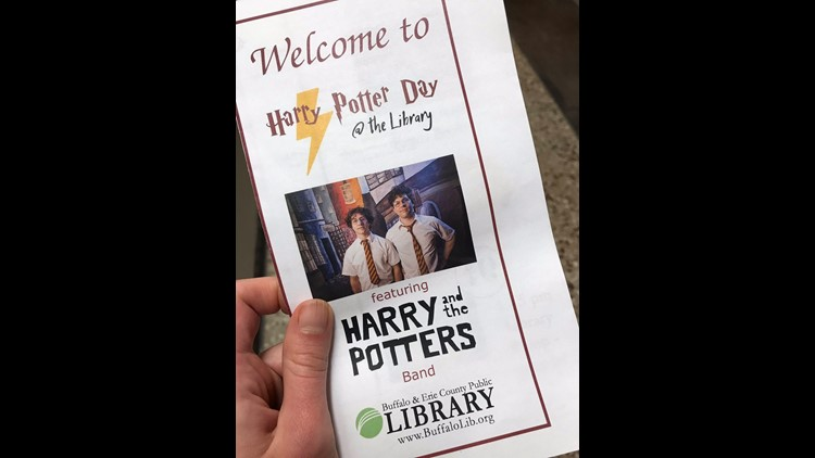 harry potter day at the buffalo public library