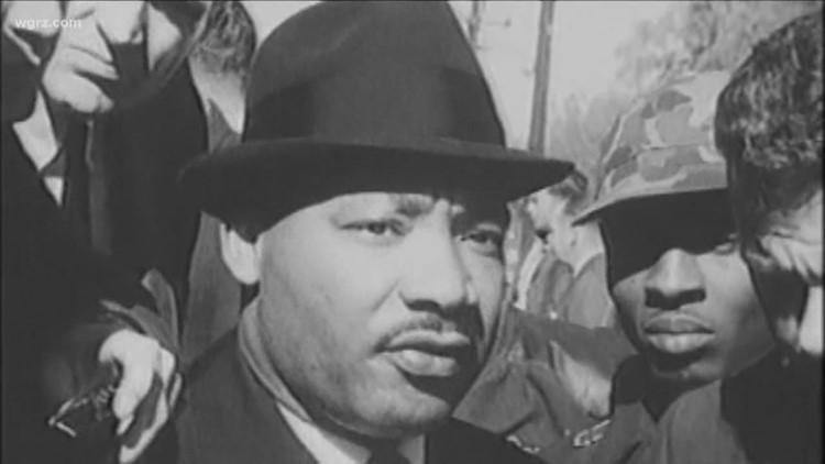 Martin Luther King Jr. day honors around Buffalo Monday