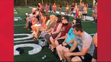 Gathering held to remember Sweet Home High coach John Faller