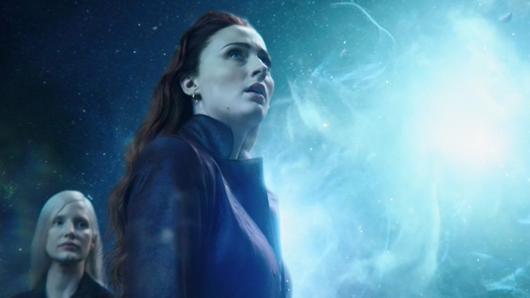 DARK PHOENIX - Chastain and Turner