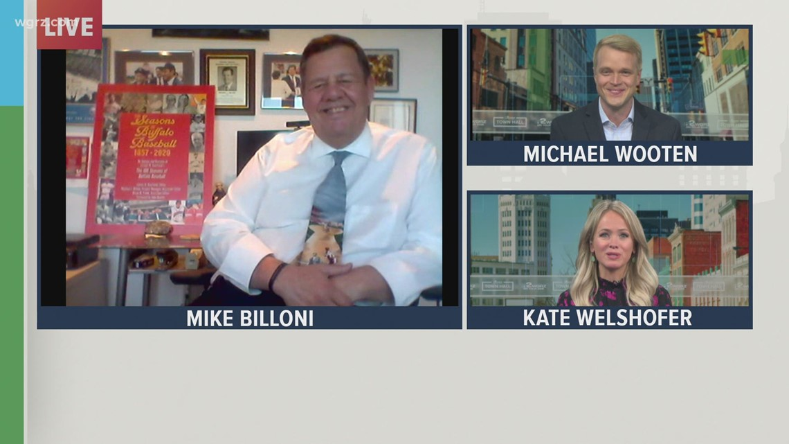 Friday Town Hall: Mike Billoni, former Buffalo Bisons VP and general manager, talks baseball