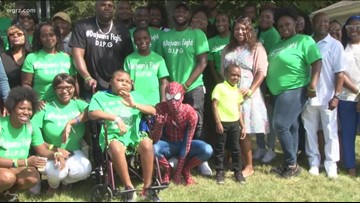 Community Rallies for Child with rare Cancer