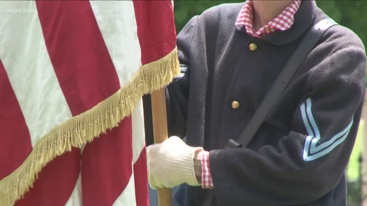Sons and Daughters of Union Veterans hold Memorial Day event