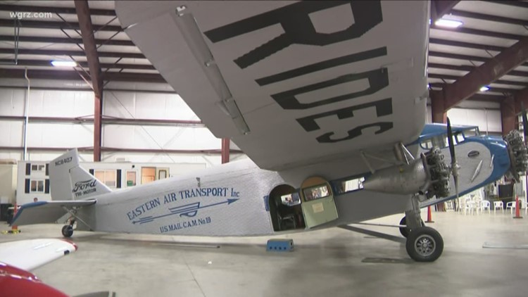 Historic Luxury Airliner Visits WNY