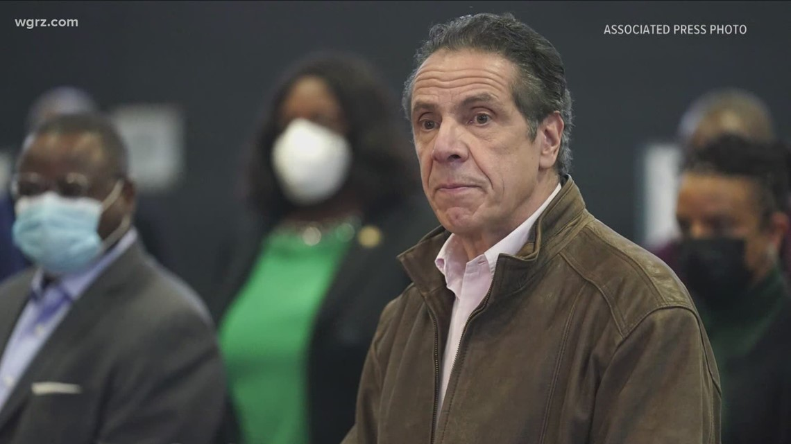 Cuomo Talks Budget As Scandals Loom