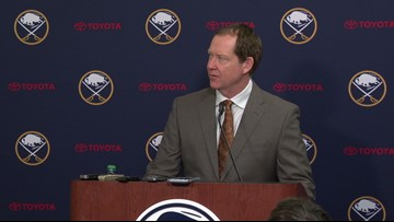 Buffalo Sabres React to Their 3-1 Win Over Detroit Saturday Afternoon