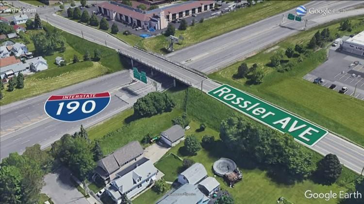 Rossler Avenue bridge is back open