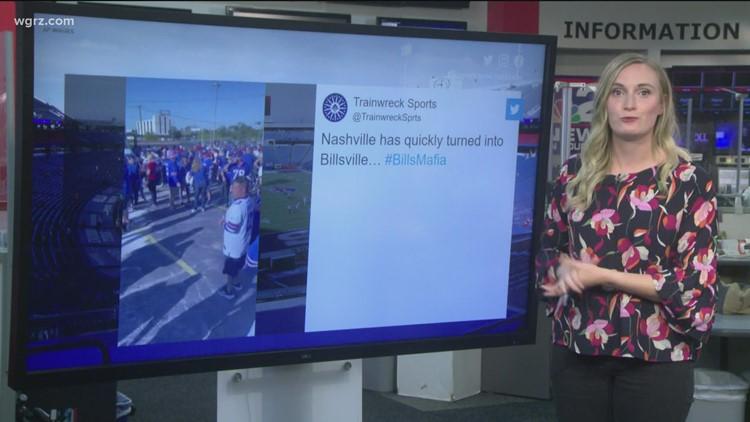 Bills fans take over Nashville