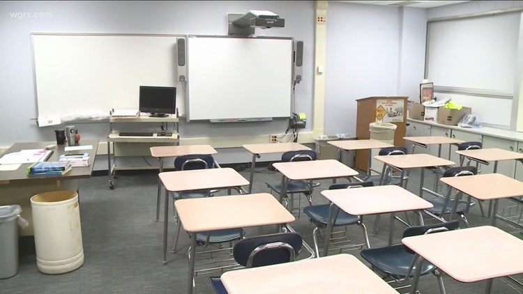 Schools scramble to adjust on spacing, fully reopen for students amidst COVID issues