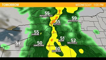 Wet and windy weather on the way for WNY