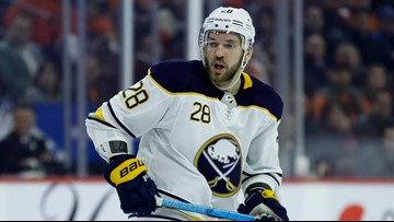 AP Source: Sabres retain rights to Girgensons, Larsson