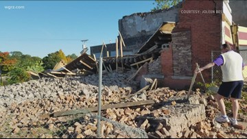 Building Collapse In Medina