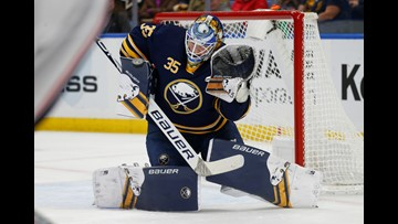 Sabres get deals done with McCabe, Ullmark