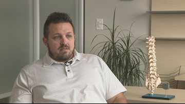 Spinal cord stimulator provides Tonawanda man pain relief without opioids