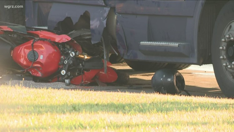 Motorcyclist Hurt In Crash With Semi Truck