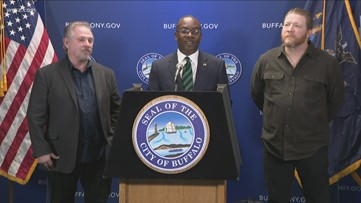 Father, son named honorary Buffalonians after filming 15 movies in city