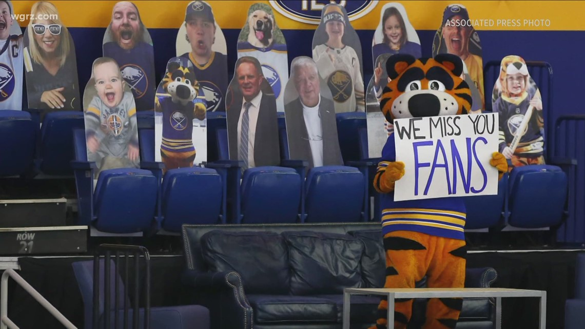 Sabres fans return to stadium for a win in a overtime shootout